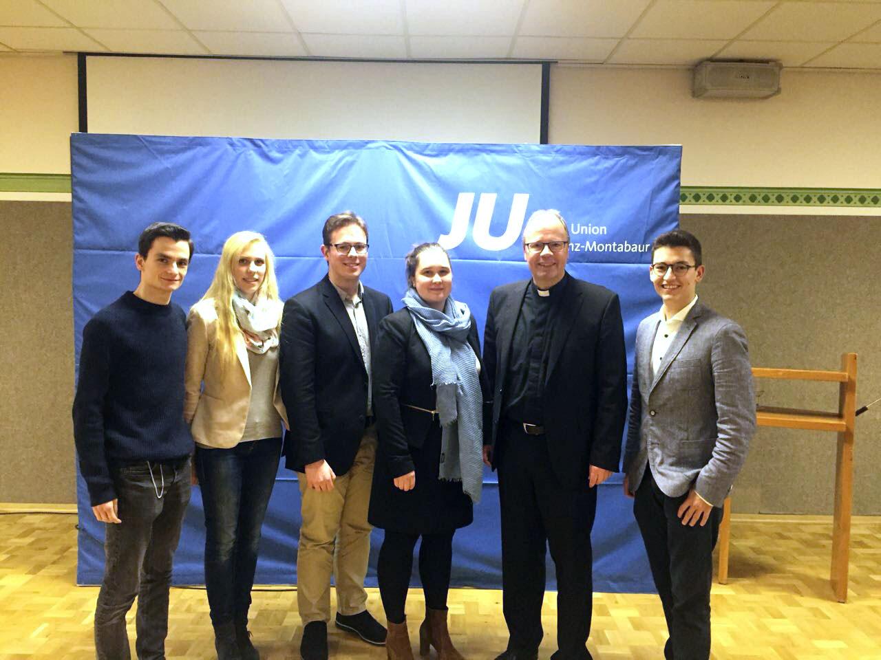 Dreikönigstreffen der Jungen Union Koblenz-Montabaur 2018 in Maria Laach